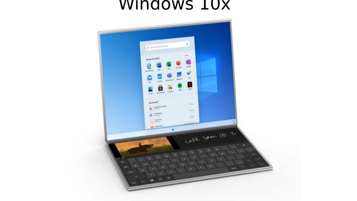 Windows 10x – New Start Menu, and More