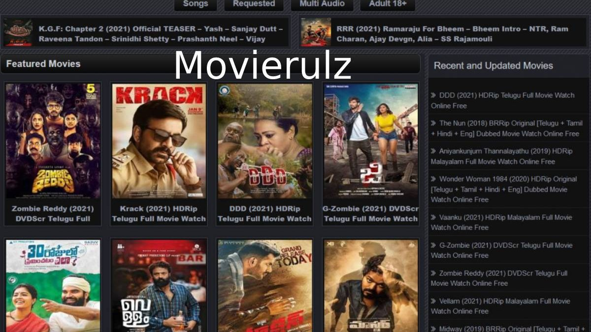 1 Movierulz: Watch and Download all Types of Movies