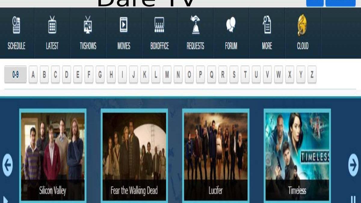Dare TV: Entertainment, Dramas and Documentaries.